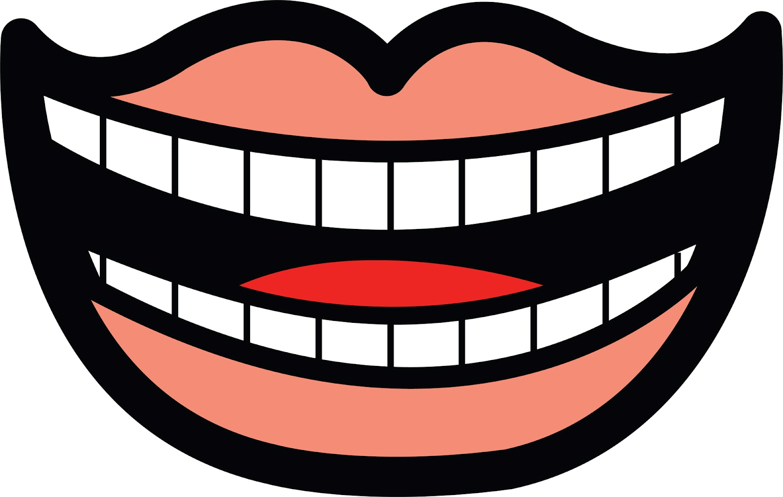 mouth template for preschool - quiet mouth clip art clipart panda free clipart images