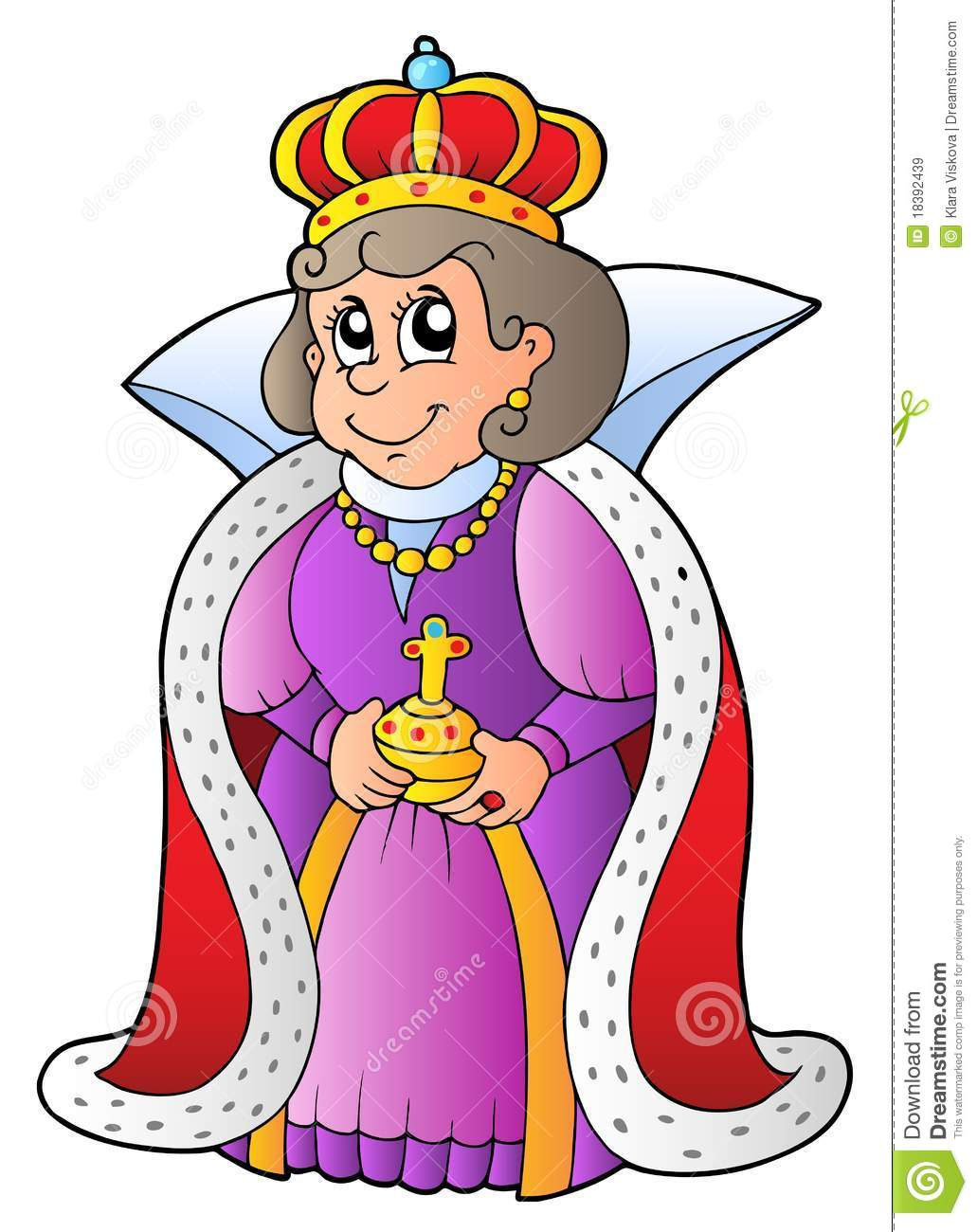 Queen Clipart Black And White Queen Clipart B...