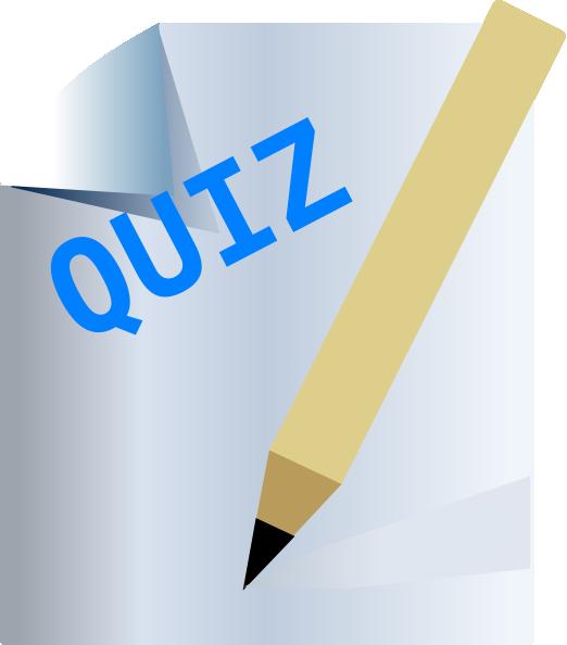 Quiz clipart images