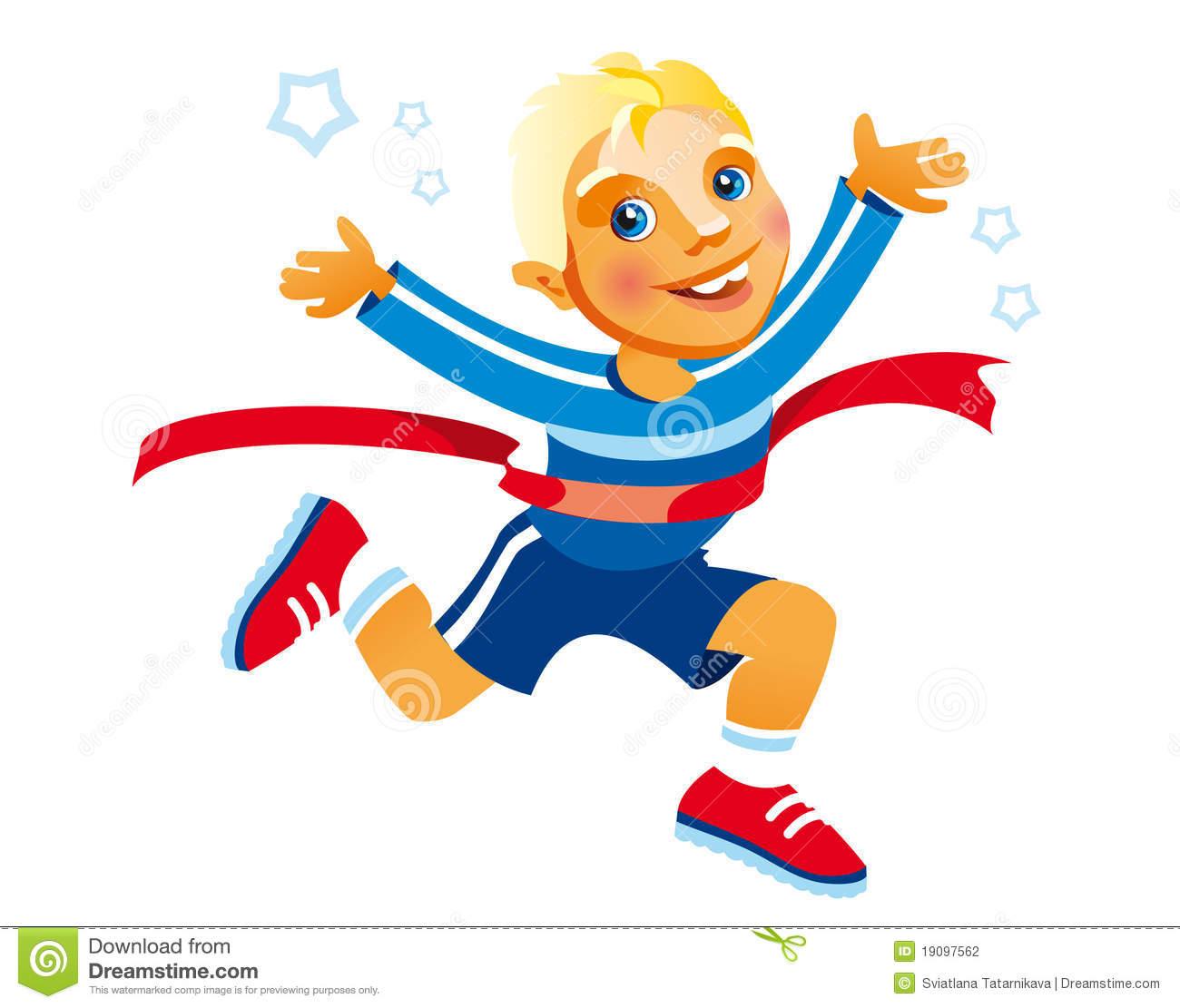 The Running Boy Sport Winner | Clipart Panda - Free Clipart Images