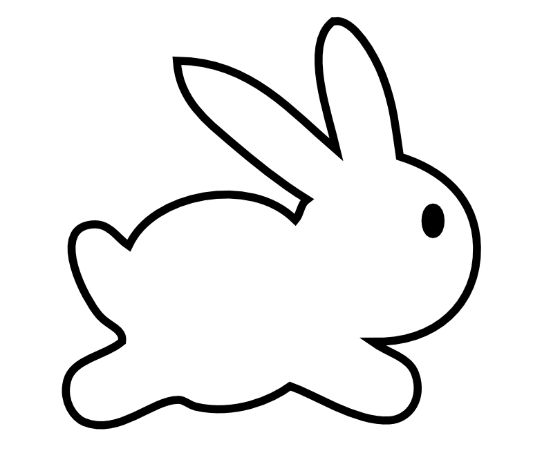 chubby bunny coloring pages - photo#25