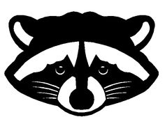 Raccoon Clipart | Clipart Panda - Free Clipart Images Raccoon Face Clip Art Black And White