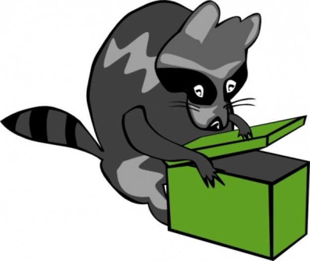 raccoon%20clipart%20black%20and%20white