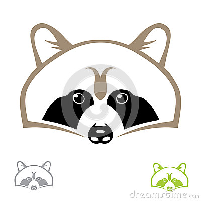 Raccoon head | Clipart Panda - Free Clipart Images Raccoon Face Clip Art Black And White