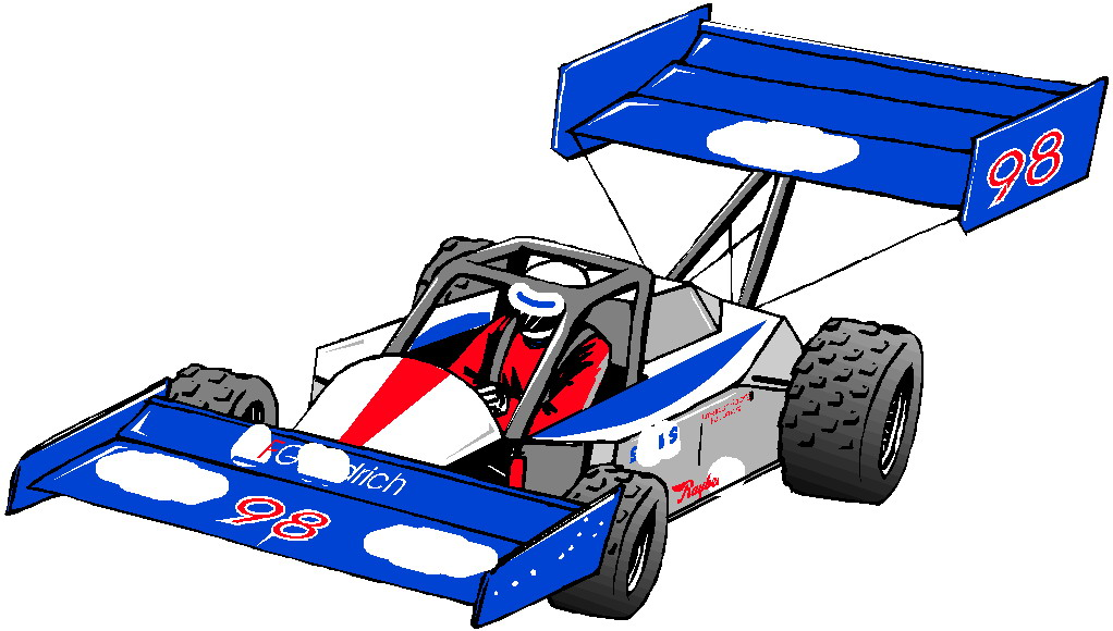 22 Race Car Clip Art Pictures to pin on Pinterest