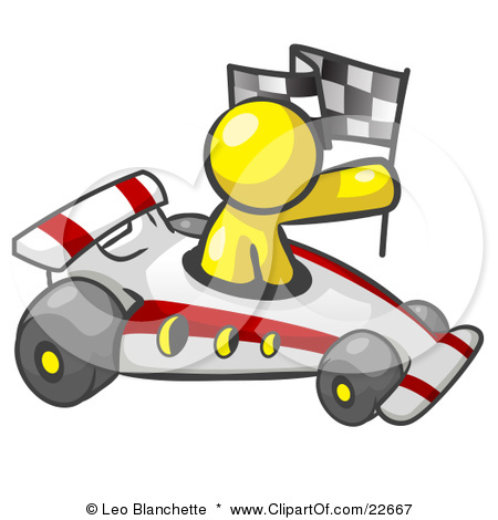 Race car clipart for kids