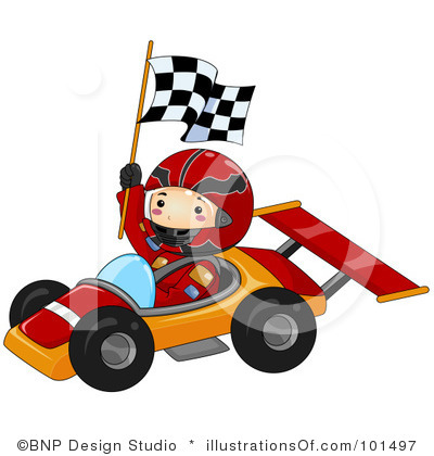Formula  Race Car Clipart