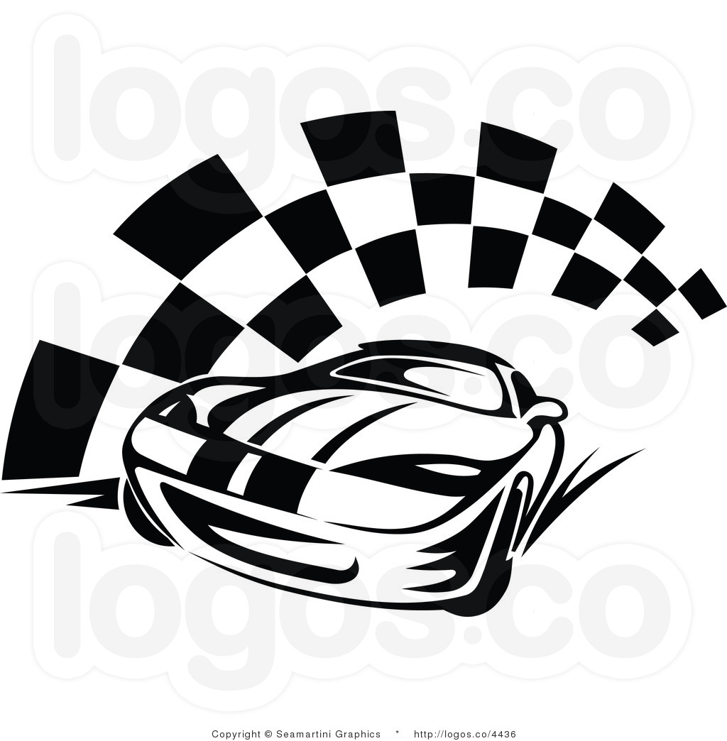 free race car flag clip art - photo #10