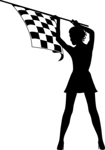 Auto Racing Clipart Image