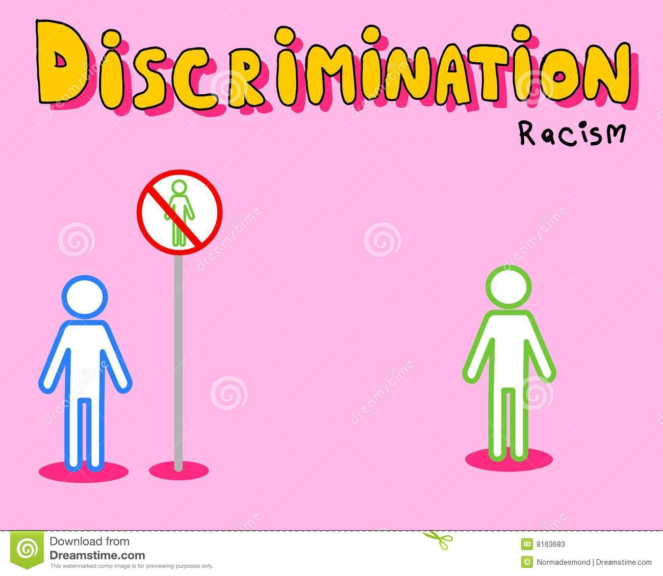 racism and discrimmination Bethany norris – unit 1 – prejudice and discrimination part one prejudice: the dictionary defines prejudice as an unfair and unreasonable opinion or feeling, especially when formed without enough thought or knowledge.