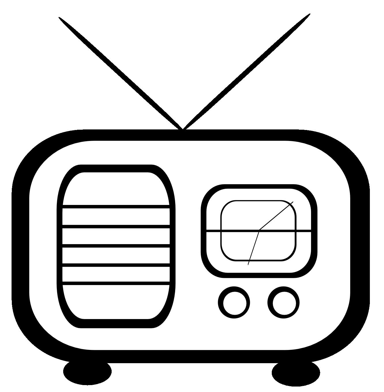 Clip Art Radio Clipart radio clipart black and white panda free images