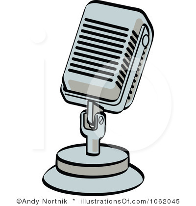Microphone Clipart Black And White | Clipart Panda - Free ...