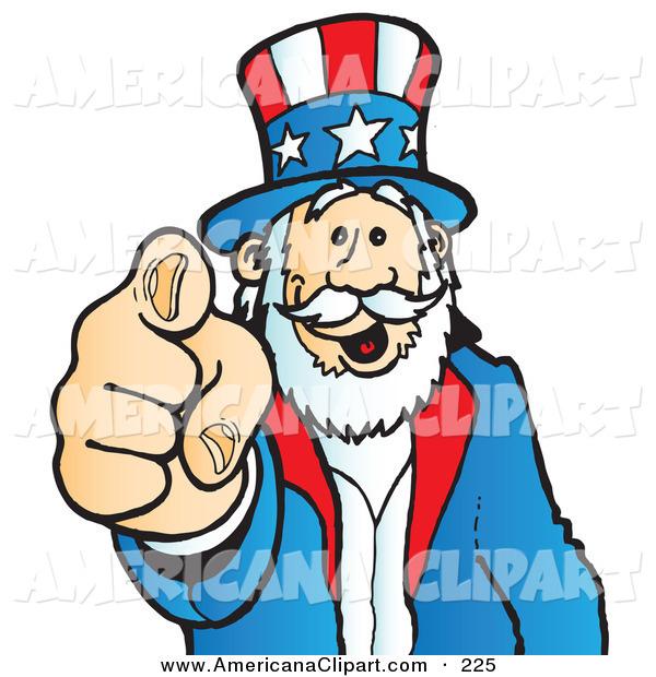 Americana Clip Art Uncle.