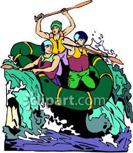 Whitewater Rafting Royalty