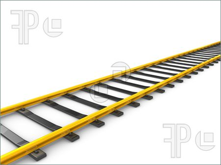 Gold railway track, | Clipart Panda - Free Clipart Images