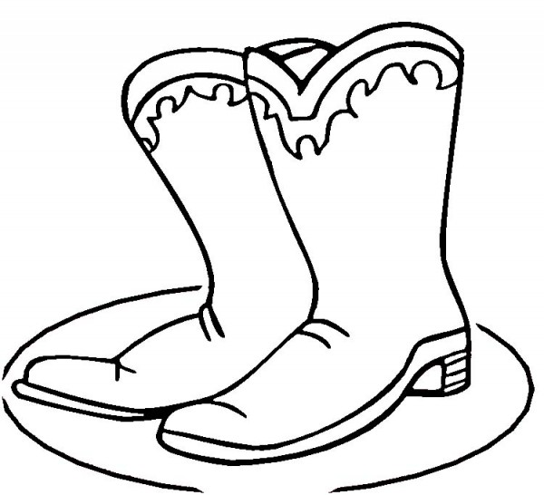 Rain Boots Coloring Pages To Print