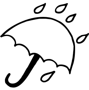 Rain Clipart Black And White | Clipart Panda - Free ...