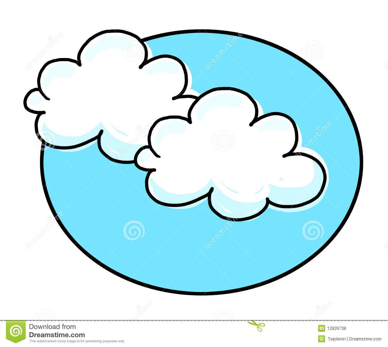 птицы облака рисунок
