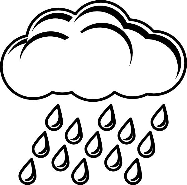 rain cloud template printable clipart panda free clipart images