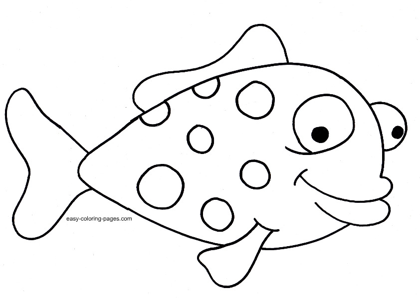 rainbow-black-and-white-coloring-page-the-rainbow-fish-coloring-page    Rainbow Fish Coloring Pages