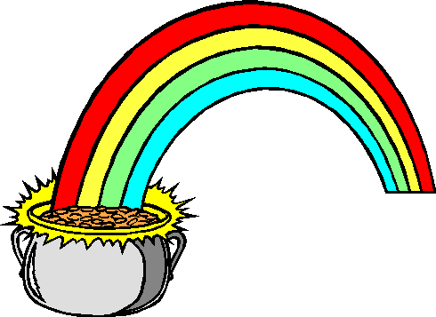 Rainbow Clipart Black And White | Clipart Panda - Free Clipart Images