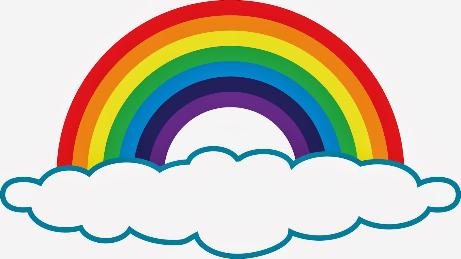 It is an image of Magic Free Printable Rainbow