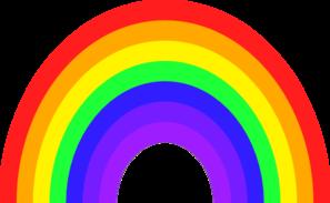 rainbow clip art clipart panda free clipart images rh clipartpanda com Rainbow of Water Clip Art SVG Clip Art of Rainbow