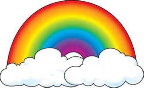 clipart panda rainbow - photo #45