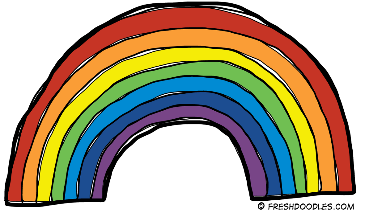 Rainbow Clipart Clipart Panda Free Clipart Images