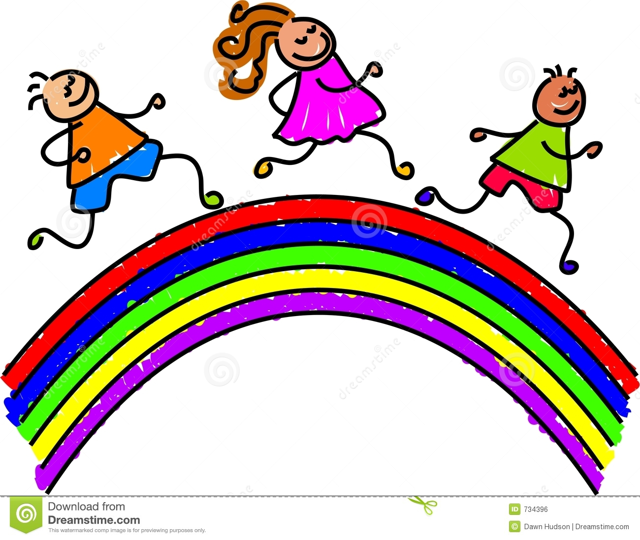 free rainbow clipart for kids half moon rh halfmoon org uk  free rainbow bridge clipart
