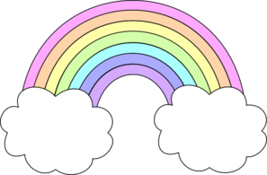 Rainbow Clipart Outline Clipart Panda Free Clipart Images