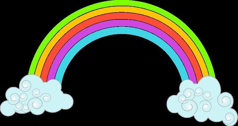 Clip Art Rainbow Clipart rainbow clipart for kids panda free images