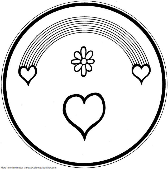 Rainbow Coloring Page | Clipart Panda - Free Clipart Images