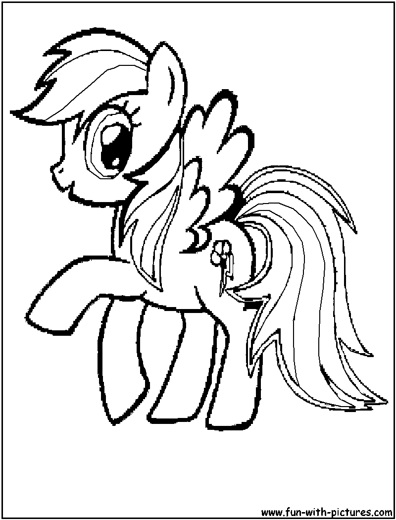 Rainbow Dash Pictures To Print Rainbow Dash Coloring Page Clipart Panda Free Clipart