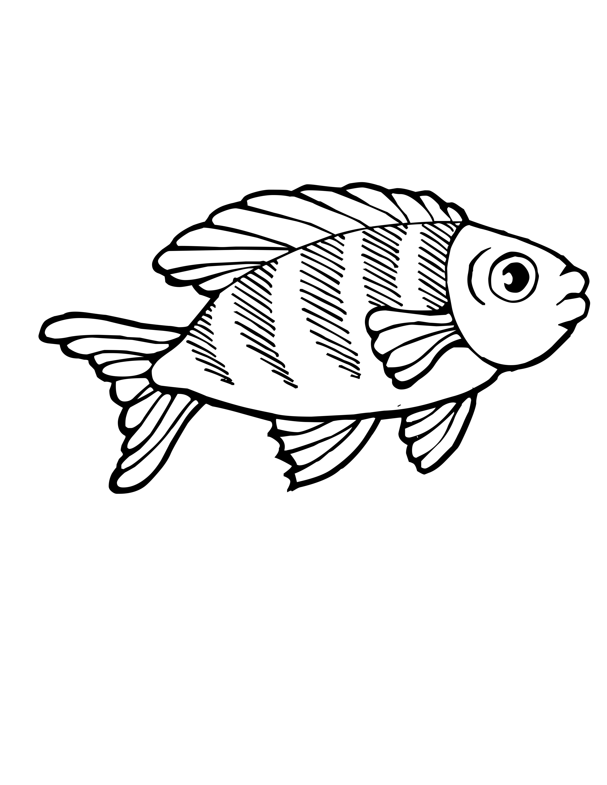 Heart and rainbow coloring pages - Rainbow Fish Coloring Page For Kid Fish Coloring Pagesjpg