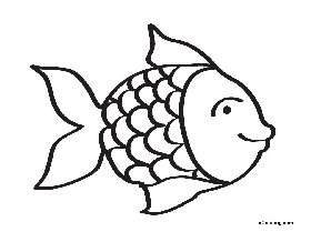 rainbow fish coloring page s fish