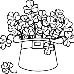 coloring Pot Gold End Rainbow Coloring Pages