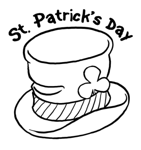 Rainbow pot of gold coloring page clipart panda free for St patrick s day rainbow coloring pages