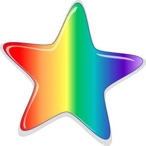 Rainbow Stars Clipart Clipart Panda Free Clipart Images