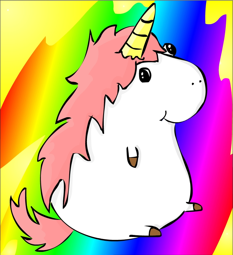 Rainbow Unicorn Cartoon | Clipart Panda - Free Clipart Images