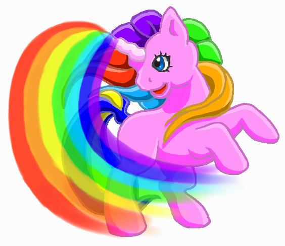 Rainbow Unicorn Cartoon | Clipart Panda - Free Clipart Images