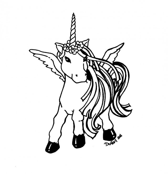 Unicorn Head Coloring Pages Clipart