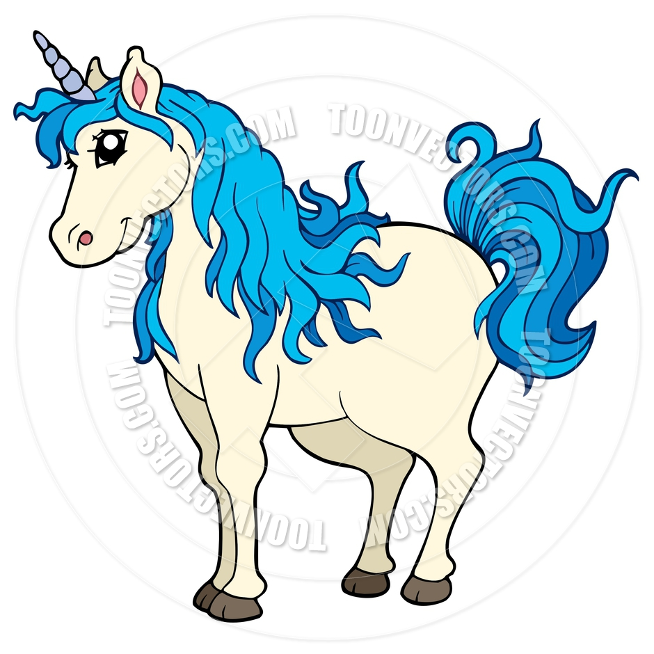 free cartoon unicorn clipart - photo #41