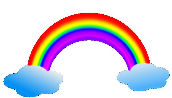 clipart panda rainbow - photo #19
