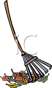 Rake And Leaves Clip Art Clipart Panda Free Clipart Images