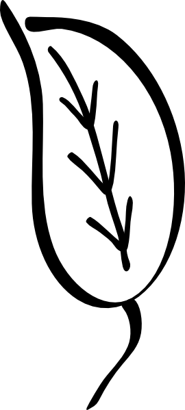 Raking Leaves Clipart Black And White