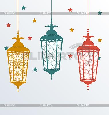 Ramadan Clipart Intricate Arabic Lamps For Kareem Ramadhan