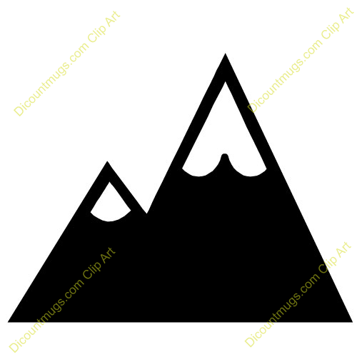mountain range clipart black and white clipart panda Mountain Peak Clip Art Mountain Peak Clip Art