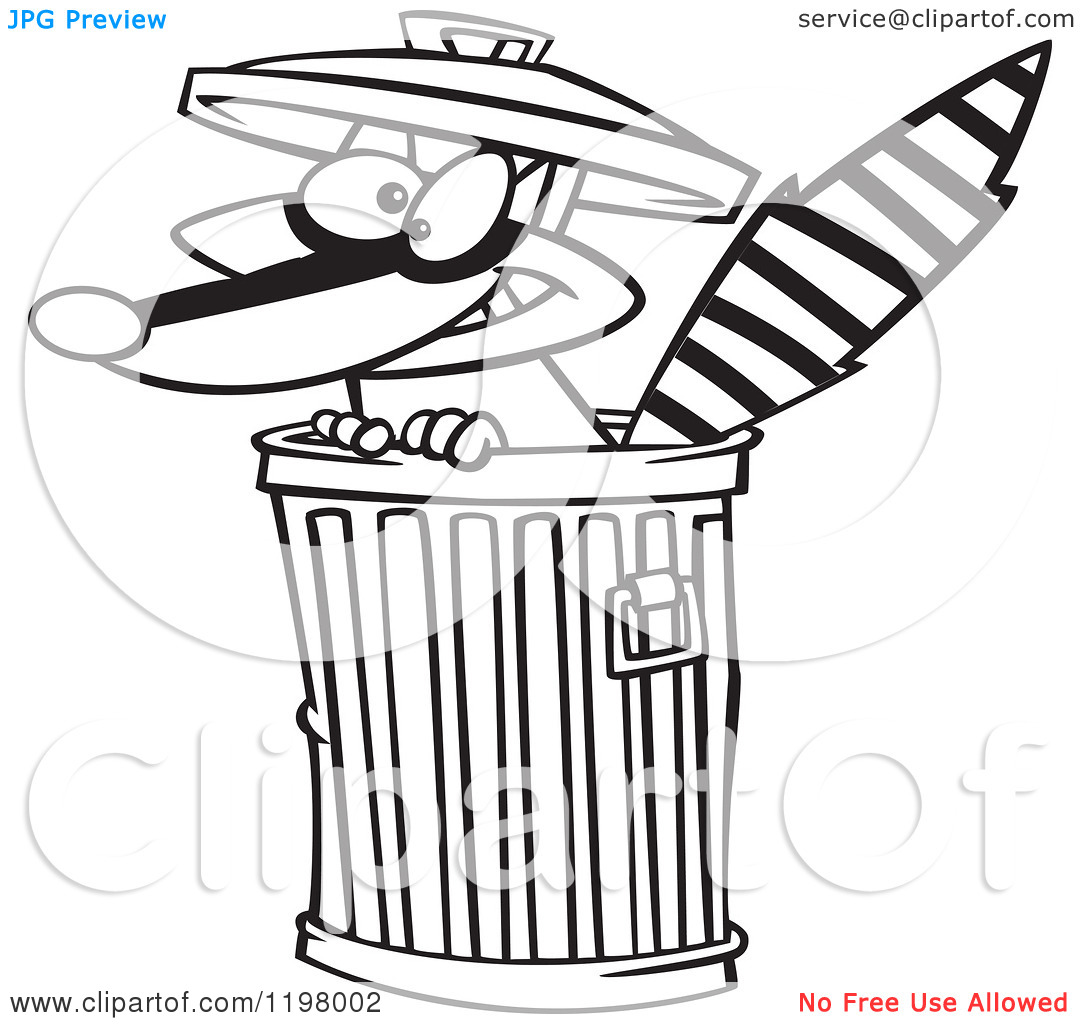 cartoon of an outlined rascal clipart panda free clipart images