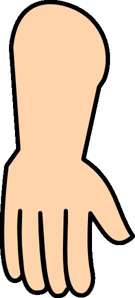 Reaching Hands Clip Art Hand Down clip art - v...